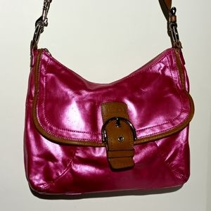COACH Hand Painted LEATHER BAG